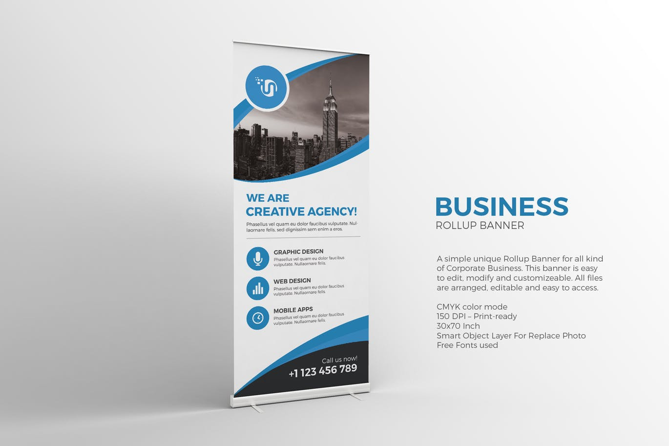 Business Roll-up Banner graphix_shiv